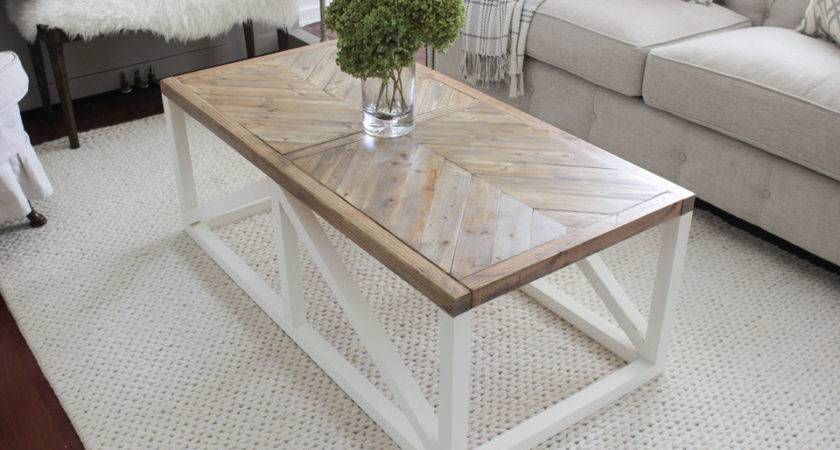 Herringbone Coffee Table Buildsomething
