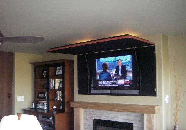 Hidden Television Media Solution Eclectic Living