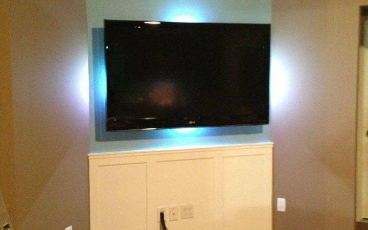 Hidden Wires Flat Screen Pvc Pipe Steps