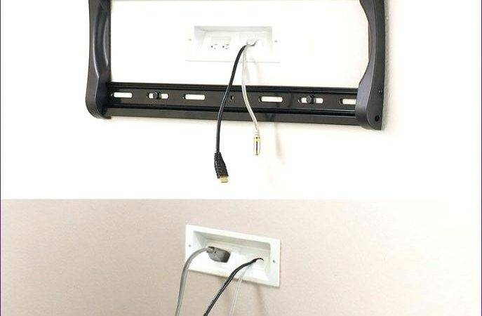 Hide Cables Without Cutting Wall