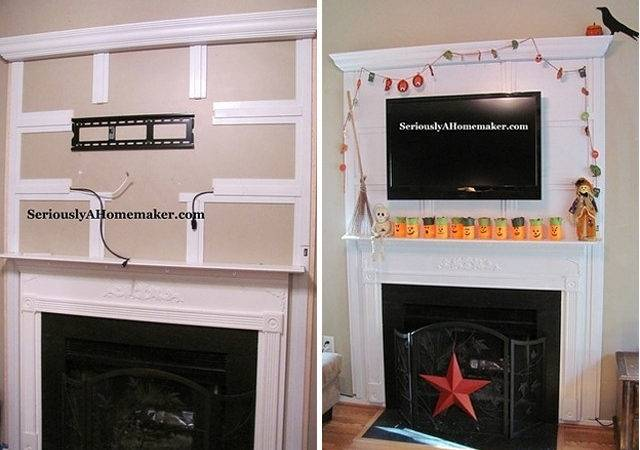 Hide Fireplace Home Design
