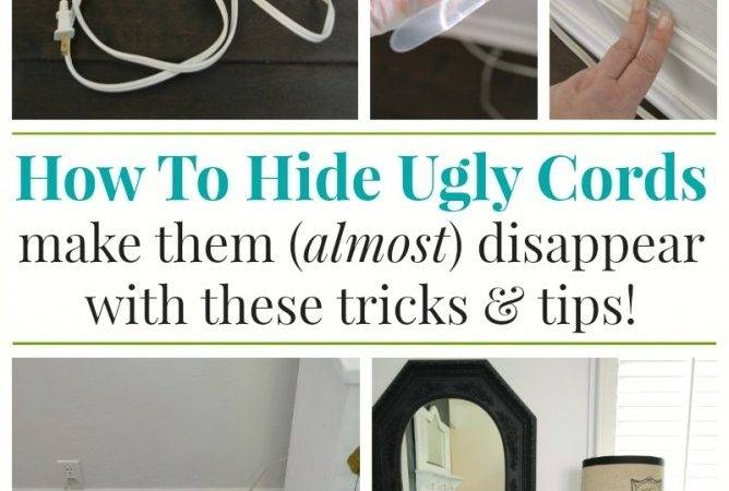 Hide Organize Unsightly Cords Fox Hollow Cottage