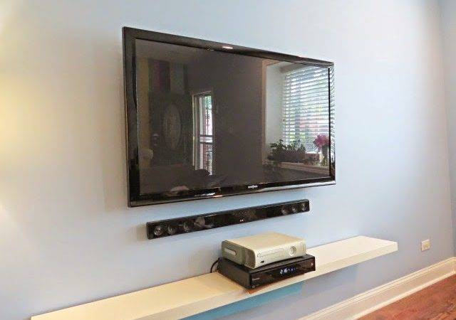 Hide Your Television Cable Wires Easy Diy