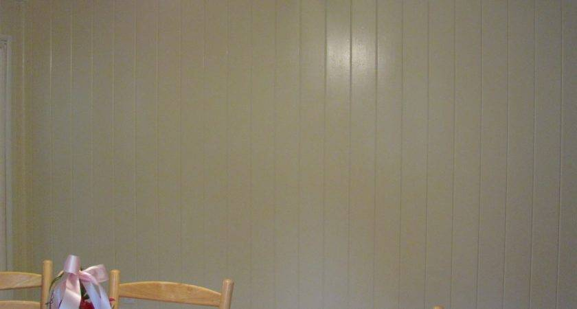 Hiding Laundry Painting Knotty Pine