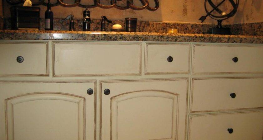 High Distress Cabinets Distressed Painted