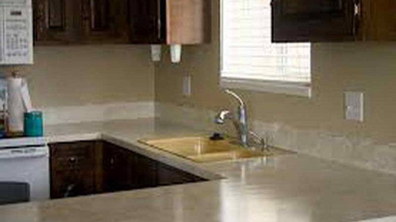 High Paint Formica Kitchen