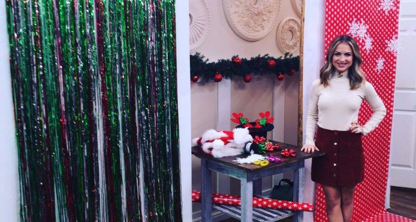 Holiday Party Diy Booths Scratch Maria