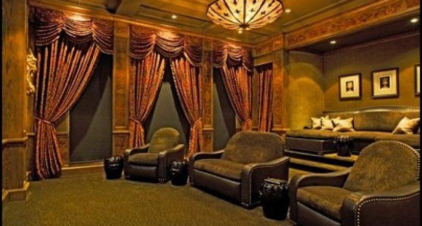 Hollywood Decor Furniture Old Movie Theater Vintage