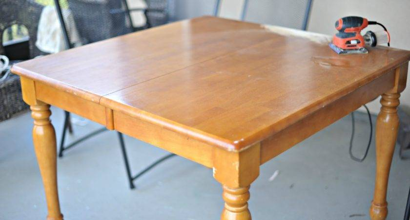 Home Ally Kitchen Table Redo