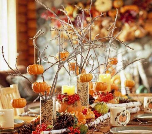 Home Christmas Decoration Thanksgiving Centerpieces