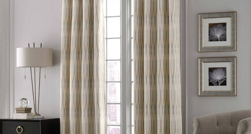 Home Decor Gray Blackout Curtains Sheer Inches Long