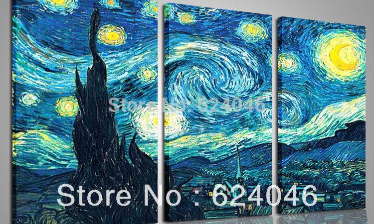 Home Decoration Framed Large Canvas Cheap Piece