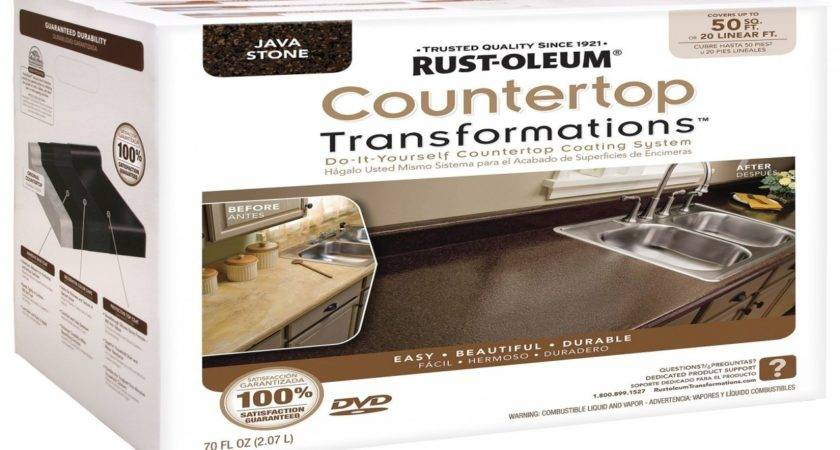 Home Depot Kitchen Cabinets Countertops Rust Oleum