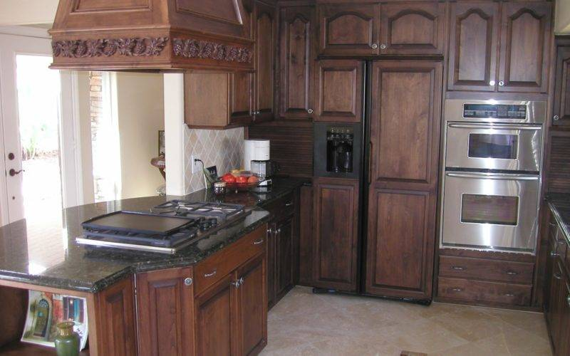 Home Design Ideas Oak Kitchen Cabinets