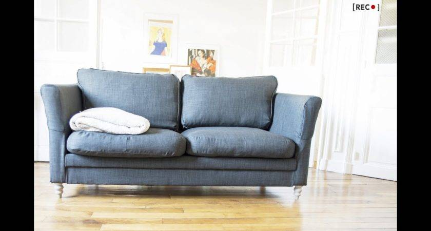 Home Diy Reupholster Your Old Couch Youtube