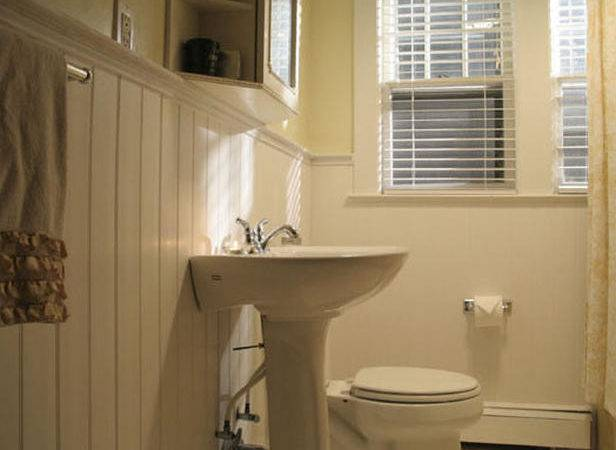 Home Improvement Bathrooms Wainscoting