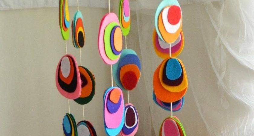 Homemade Baby Crib Mobiles Diy Craft Projects