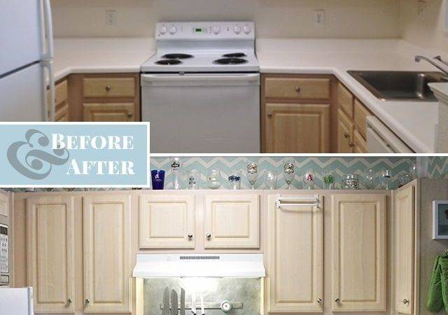 Hometalk Faux Subway Tile Backsplash Diy