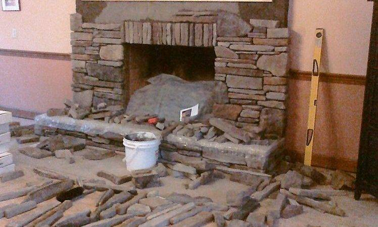 Hometalk Manufactured Stone Veneer Installed