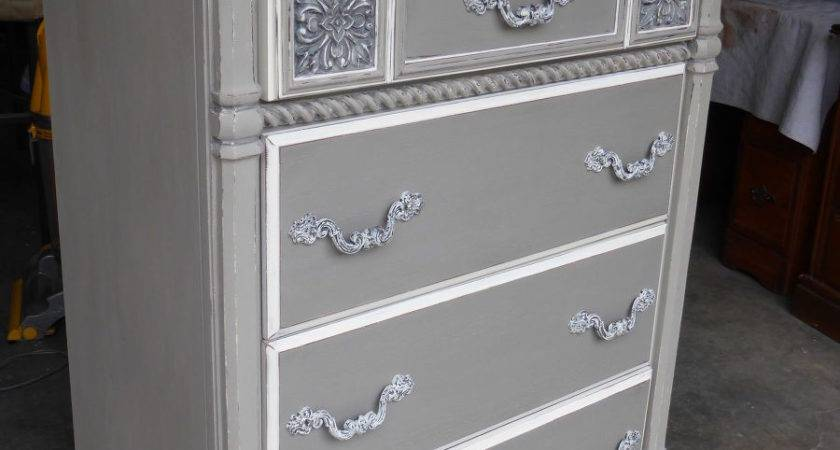 Hometalk Sophisticated Grey Painted Lady Dresser
