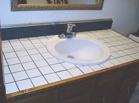 Hometalk Turn Your Tile Counter Top Faux
