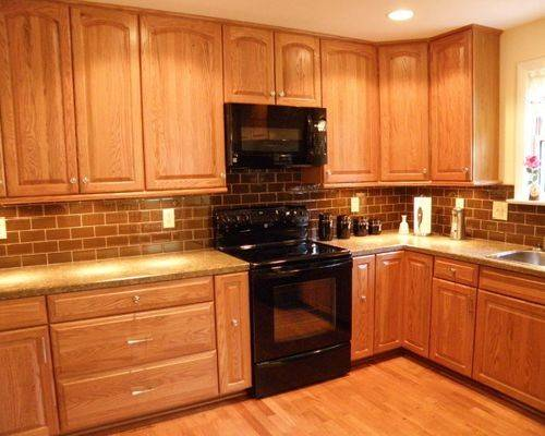 Honey Oak Cabinets Ideas Remodel Decor