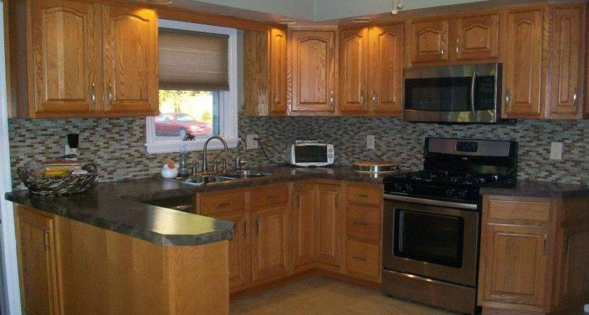 Honey Oak Kitchen Cabinets Wall Colors