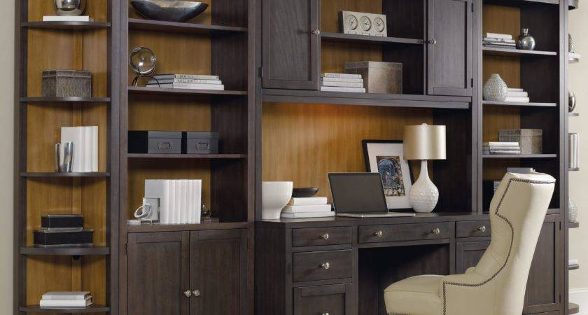 Hooker Furniture South Park Home Office Wall Unit