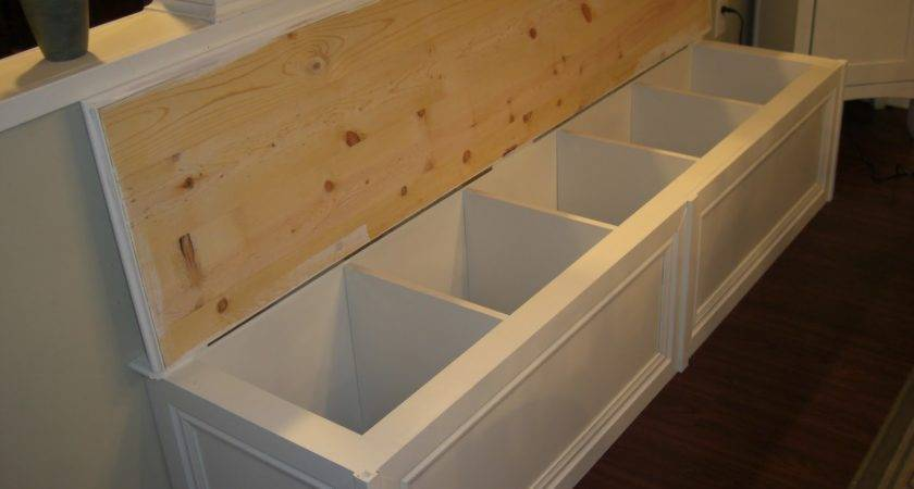 House Normandy Turning Bookcase Into Banquette