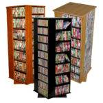 Huge Dvd Storage Spinner Rack New Ebay