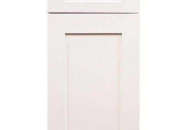 Ice White Shaker Cabinet Door Sample Kitchen Cabinets