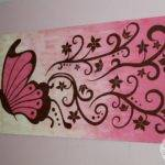 Ideas Butterfly Painting Pinterest