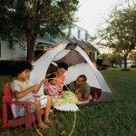Ideas Camping Out Your Backyard Parenting