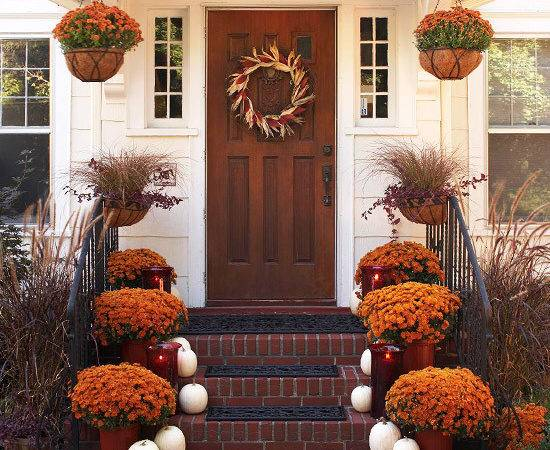 Ideas Inspiration Creative Living Outdoor Fall Decor