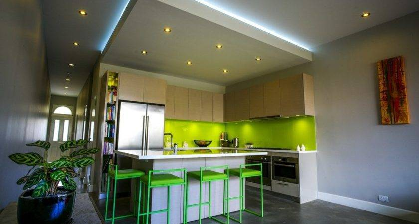 Ideas Kitchen Drop Ceiling Lighting Room Decors Design