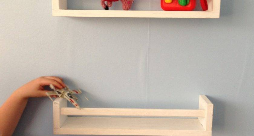Ikea Hack Herb Rack Turned Bedroom Shelves