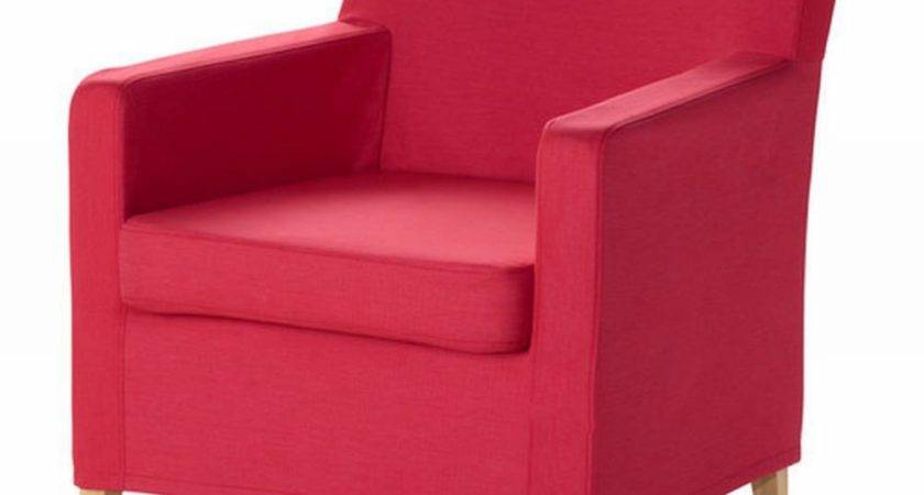Ikea Karlstad Chair Slipcover Armchair Cover Sivik Pink