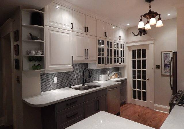Ikea Kitchens Lidingo Gray White Stacked Wall