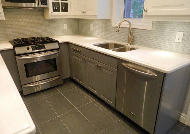 Ikea Kitchens Lidingo Gray White