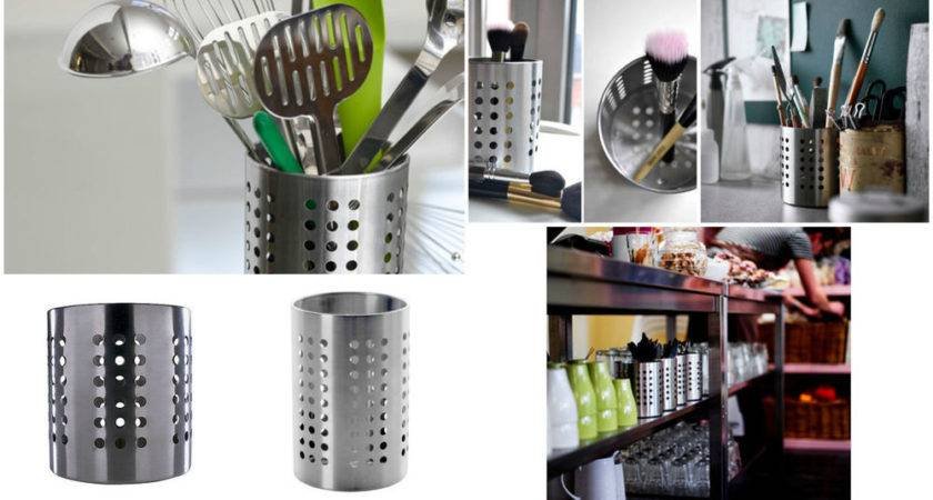 Ikea Ordning Cutlery Utensil Holder Caddy Stainless Steel