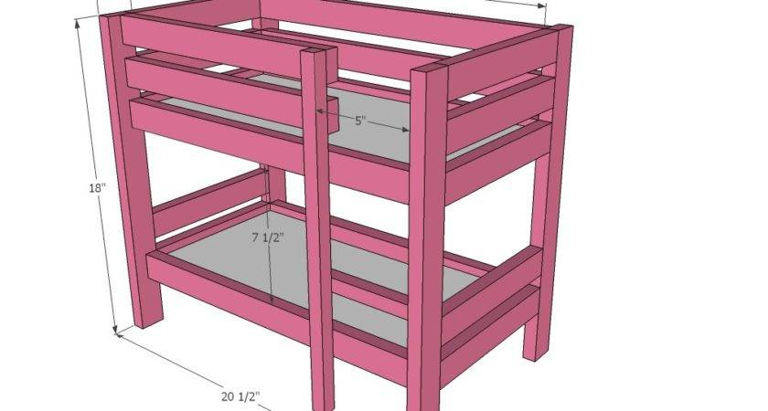 Inch Doll Loft Bed Plans Woodworktips