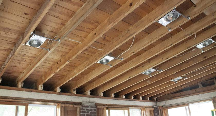 Incredible Installing Recessed Lighting Suspended