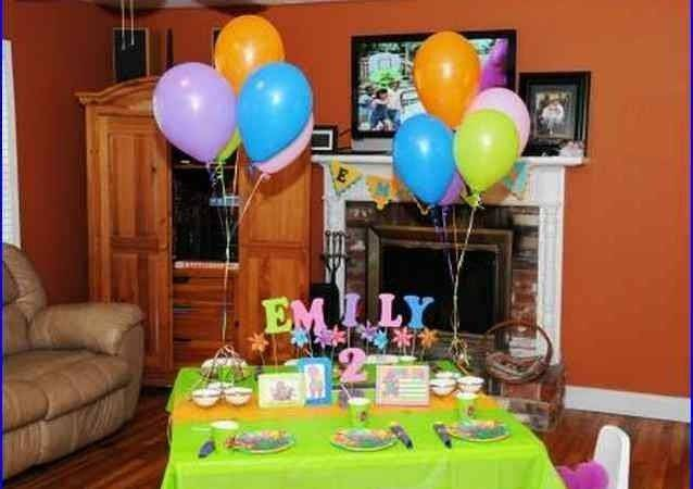 Indoor Birthday Party Ideas Year Old Home Design