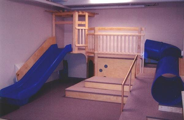Indoor Playground Slide Wish Had House