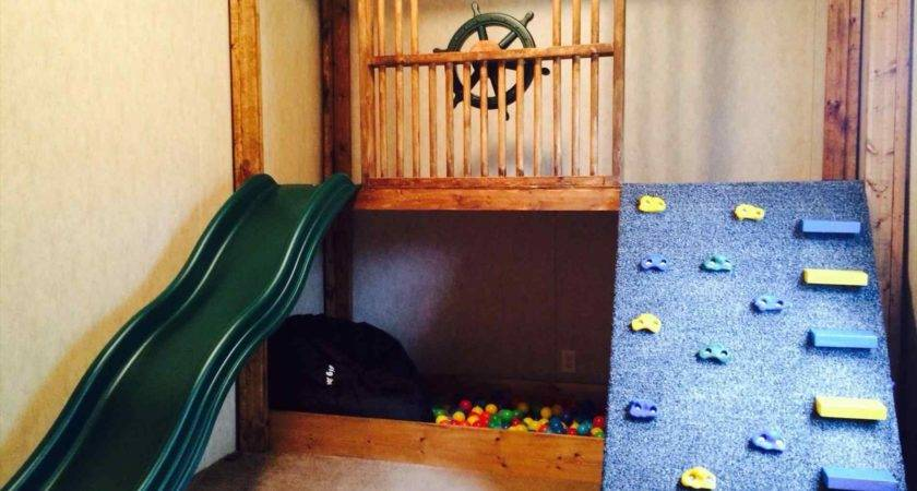 Indoor Playhouse Slide White Loft Bed Diy