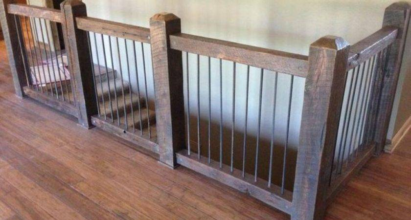 Indoor Railing Balusters Stairs Kitchen
