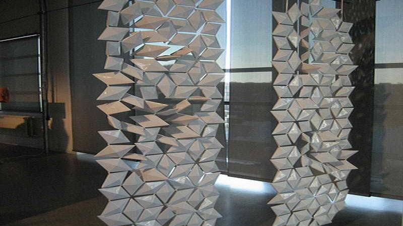 Indoor Sotto Retro Chic Hanging Room Divider Beaded