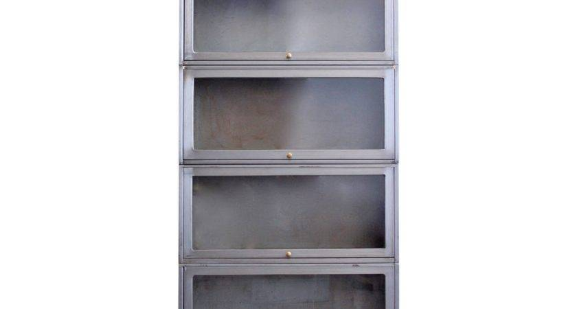 Industrial Barrister Bookcase Stdibs