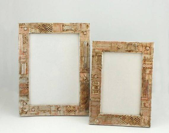 Industrial Frame Brown Patina Hanging