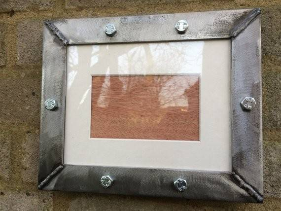 Industrial Handmade Metal Frames Using Ksmxdesigns